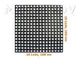 Светодиодная матрица WS2812B 16х16 256 LED из адресных светодиодов 5В гибкая, фото 2