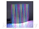 Светодиодная матрица WS2812B 16х16 256 LED из адресных светодиодов 5В гибкая, фото 9