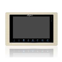 """Видеодомофон Myers M-73SD Gold, экран 7"""""""