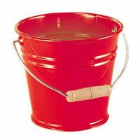 Игрушка для песка nic Ведро металлическое (красное) (NIC535054)
