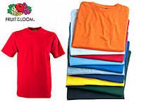 Комплект* 5 мужских футболок S-5XL fruit of the loom любого цвета