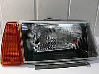 Фара правая с оранжевым указателем (внутри черный корпус) ВАЗ 2108,-09,-099 (пр-во Формула света), фото 1