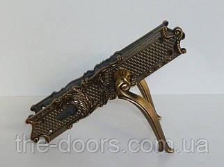Дверна ручка на планці F278