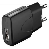 Зарядное устройство HAMA НАМА 3в1; 2х1А.; кабель micro USB 1.4 м.; black (00173622)