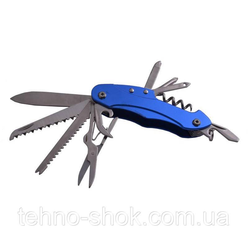 Нож многофункциональный складной туристический KG507