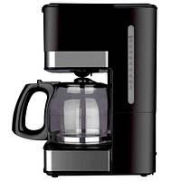 Кофеварка капельная бытовая DSP Kafe Filter кофемашина для дома черная KA-3024