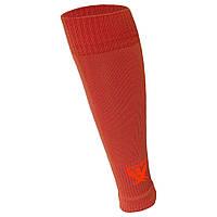 Гетры футбольные Swift без носка оранжевые, размер 27