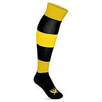 Гетры футбольные Swift Зебра желто/черные, размер 27