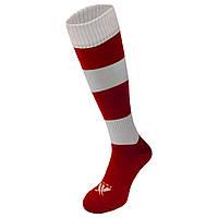 Гетры футбольные Swift Зебра красно/белые, размер 27