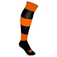 Гетры футбольные Swift Зебра оранжево/черные, размер 27