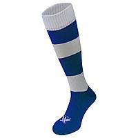 Гетры футбольные Swift Зебра сине/белые, размер 27