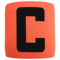 Капітанська пов'язка на липучці SWIFT Capitans Band, помаранчева, Junior