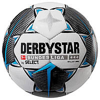Мяч сувенирный DERBYSTAR MB BL BRILLANT (47 cm) (147), бел/черн/сер