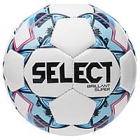 Мяч сувенирный SELECT Brillant Super mini (47 cm) (172), бел/красн