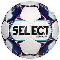 Мяч футбольный SELECT Tempo (012) бело/фиолетовый, размер 4