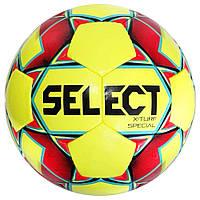 Мяч футбольный SELECT X-Turf Special (018) желт/красн, размер 4