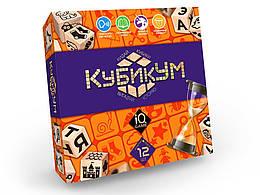 Дидактична гра КубікУм українською мовою