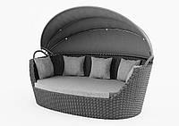 Диван Портофино Роял серый, софа, мебель для дома, мебель для сада, мебель для ресторана, мебель для бассейна