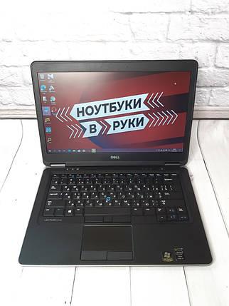 """Ноутбук 14"""" Dell Latitude E7440 (i3-4030U 4х1.90 Ghz/ 8Gb DDR3/ SSD 128Gb/ HD 4400/ HD/ 5 часов), фото 2"""
