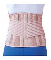 Бандаж для спины согревающий с 6-ю ребрами жесткости Ortop EB-537