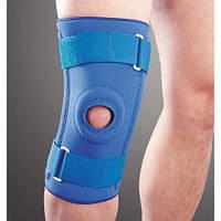 Бандаж на коленный сустав неопреновый со спиральными ребрами Ortop NS-706