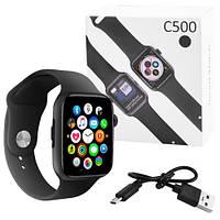 Смарт часы  C500-Black,  Sim card, голосовой вызов (Smart Watch)
