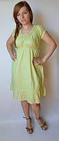 Платье летнее, 54-58 размеры, салатовое
