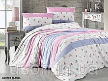 Комплект постельного белья из фланели евро размер ТМ First Choice Hasper