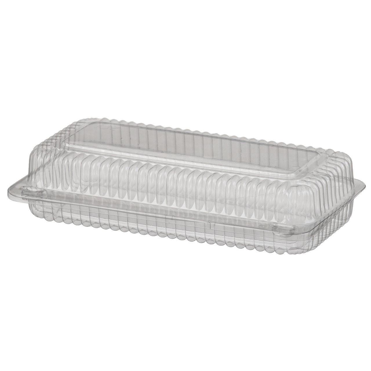 Контейнер одноразовий харчовий, пластикова упаковка, блістер 325x125x56 мм, V=1650 мл