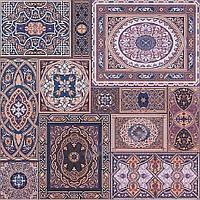 Плитка Атем для пола Atem Aladdin M 400 х 400 (Аладин напольная коричневая)