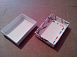 Картонна коробка для гаманців, візитниць, фото 3