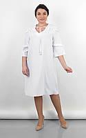 Легкое свободное женское платье большого размера 50-52,54-56,58-60,62-64