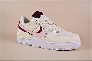 Женские кроссовки Nike AF1 Bege