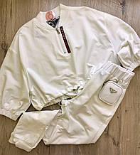 Fashion костюм жіночий L(р) білий 70154 Prada Туреччина Весна-D