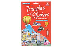 Scribble Down Набор переводных наклеек с онлайн приложением - Лондон