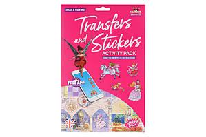 Scribble Down Набор переводных наклеек с онлайн приложением - Сказка о принцессе