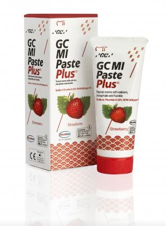 Крем для зубiв GC MI Paste Strawberry 35 мл  Полуниця