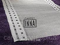 Безворсовая дорожка на латексе бежевая  Flex Karat Carpet: 100 см
