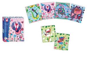 Janod Карточки со штампами Любимые животные