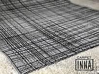 Безворсовая дорожка серая Karat Carpet Flex на латексе   67; 80; 120(ост.1,03); 150; 200 см