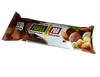 Ореховый Батончик Power Pro протеин 36% 60 г.