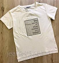 Футболка жіноча 2XL(р) біла 32748-002 RAW Туреччина Літо-D