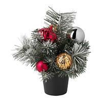 """IKEA """"ФЕЙКА"""" Искусственное растение в горшке, украшение, 10.5 см"""