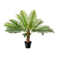 """IKEA """"ФЕЙКА"""" Искусственное растение в горшке, Саговая пальма, 17 см"""