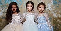 Пошив детских праздничных платьев по индивидуальному заказу
