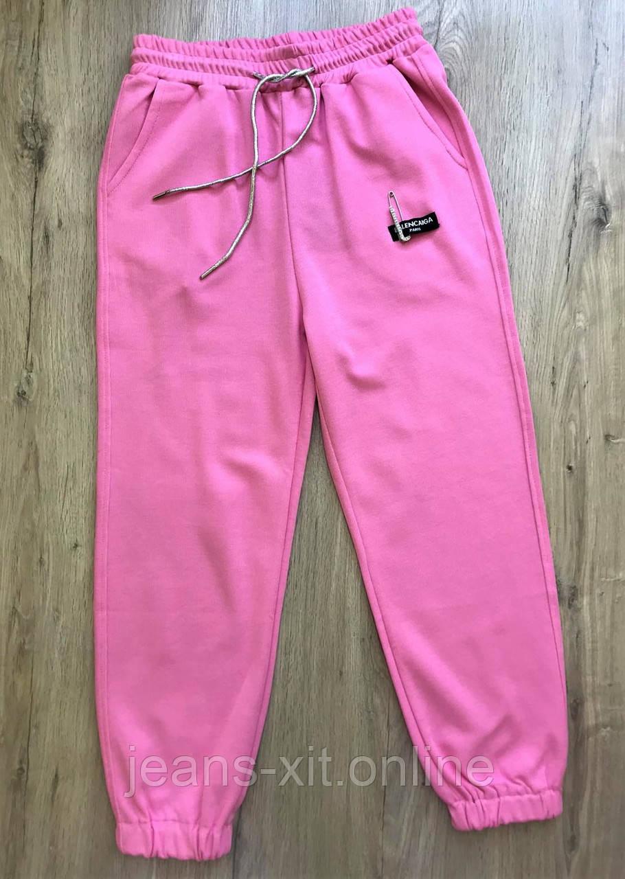 Брюки женские L(р) белые 9205 КНР Весна-D L, розовые