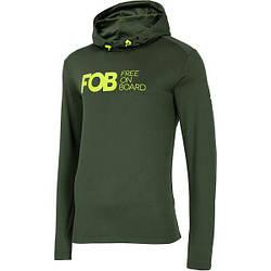 Мужская термоактивная рубашка H4Z20 BIMD035 4F (хаки)