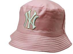 Двухсторонняя летняя панама NY Розовая
