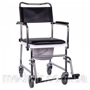 Кресло-каталка с санитарным оснащением JBS OSD-JBS367A