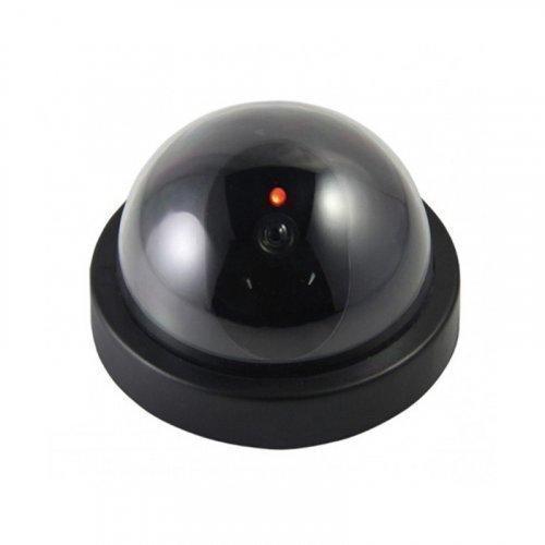 Муляж камеры видео наблюдения с мигающим диодом | Камера полусфера